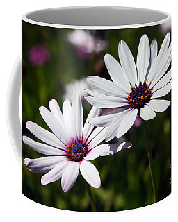 Purple Daisies Coffee Mug