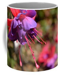 Purple Fuchsia Coffee Mug