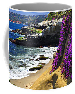 Purple Glory At La Jolla Cove Coffee Mug