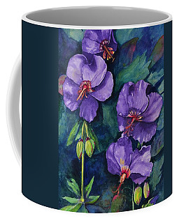 Purple Hibiscus Coffee Mug