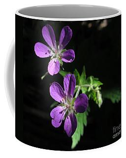 Purple Highlights Coffee Mug