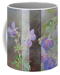 Purple Ivy Geranium Coffee Mug