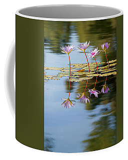 Purple Lillies Coffee Mug