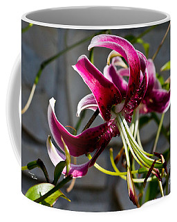 Purple Lily Coffee Mug