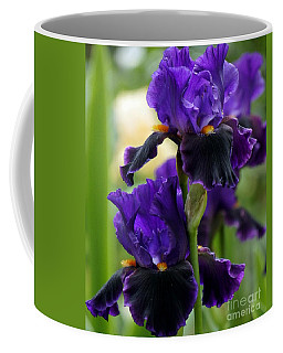 Purple Majesty Coffee Mug by Lilliana Mendez