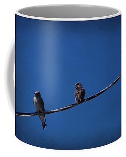 Purple Martin Trio Coffee Mug