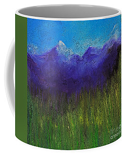 Purple Mountains By Jrr Coffee Mug by First Star Art