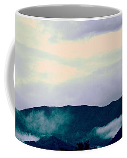 Purple Mountains Majesty Blue Ridge Mountains Coffee Mug by Kathy Barney