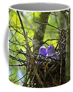 Purple Peeps Pair Coffee Mug by Al Powell Photography USA