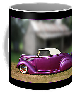 Coffee Mug featuring the photograph Purple Perfection by Keith Hawley