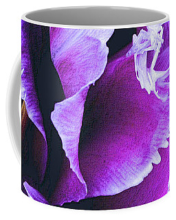 Coffee Mug featuring the photograph Purple Perfection by Nadalyn Larsen
