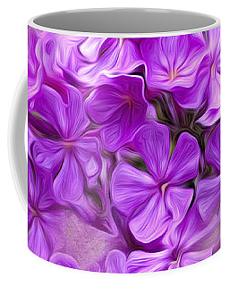 Purple Phlox Coffee Mug