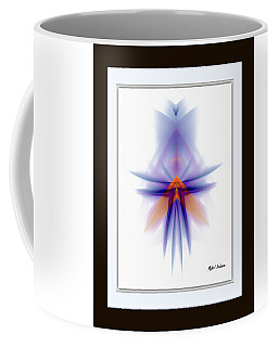 Coffee Mug featuring the painting Purple Rain by Rafael Salazar