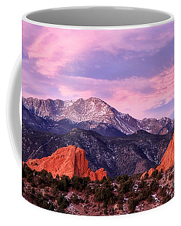 Purple Skies Over Pikes Peak Coffee Mug