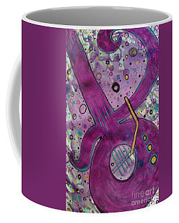 Purple Strings Coffee Mug