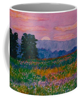 Purple Sunset On The Blue Ridge Coffee Mug by Kendall Kessler