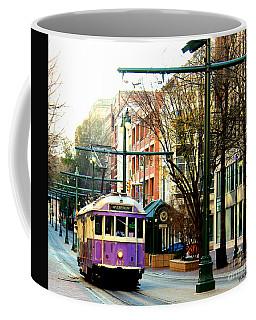 Purple Trolley Coffee Mug