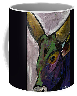Purple Ugandan Cow Coffee Mug