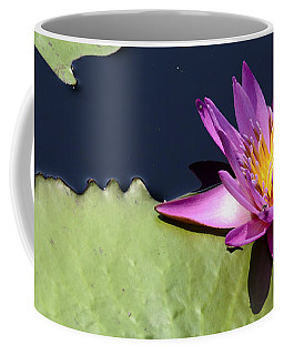 Purple Waterlilly Coffee Mug