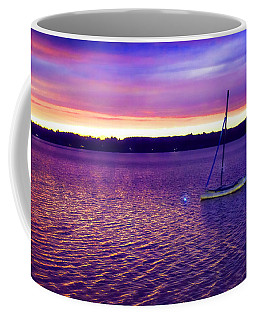 Purple Waters  Coffee Mug