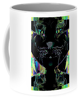 Pussy Cat Coffee Mug by Natalie Holland