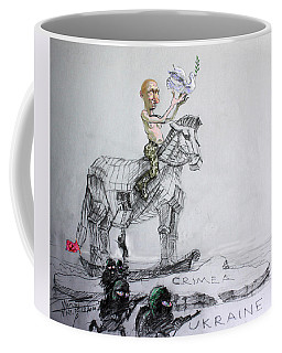 Putin's Surprising Crimea Visit Coffee Mug