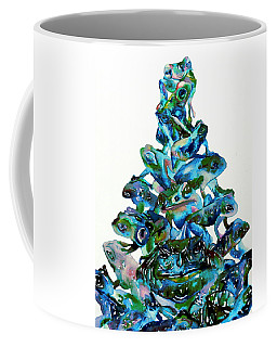 Pyramid Of Frogs And Toads Coffee Mug