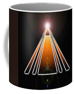 Pyramid Of Light Coffee Mug