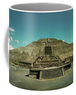 Pyramid Of The Sun In The Teotihuacan Coffee Mug