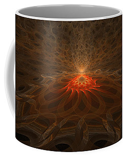 Coffee Mug featuring the digital art Pyre by GJ Blackman