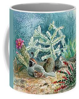 Quail At Rest Coffee Mug by Marilyn Smith