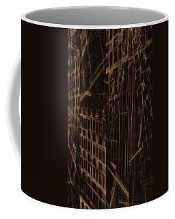 Coffee Mug featuring the digital art Quake - Ground Zero by GJ Blackman