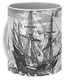 Queen Elizabeth S Galleon Coffee Mug