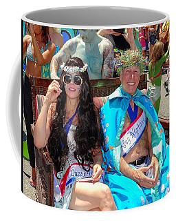 Coffee Mug featuring the photograph Queen Mermaid-king Neptune by Ed Weidman