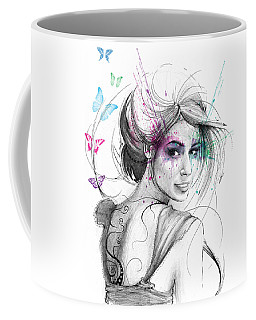 Queen Of Butterflies Coffee Mug