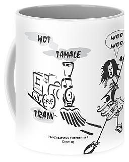 Queen Of Scream Coffee Mug by Maria Watt