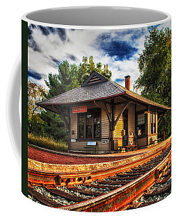 Queponco Railway Station Coffee Mug