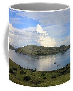 Coffee Mug featuring the photograph Quiet Bay by Sergey Lukashin