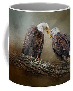 Quiet Conversation Coffee Mug