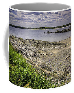 Coffee Mug featuring the photograph Quiet Cove by Mark Myhaver
