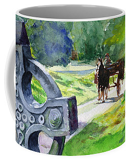 Quiet Man Watercolor 2 Coffee Mug