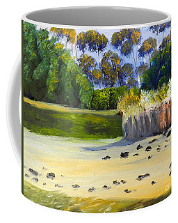 Quiet Sand By The Creek Coffee Mug