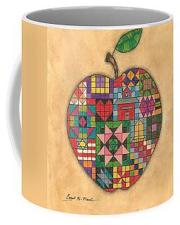 Quilted Apple Coffee Mug