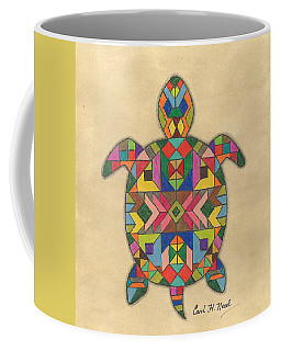 Quilted Turtle Coffee Mug
