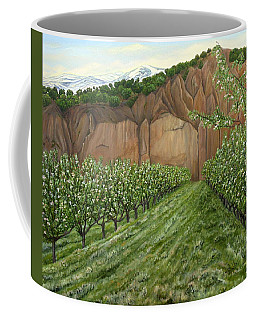 Quince Trees Coffee Mug