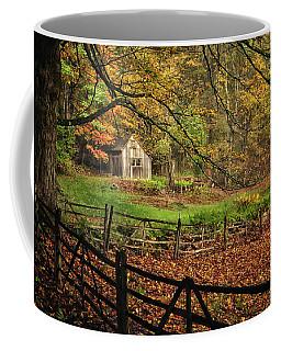Rustic Shack- New England Autumn  Coffee Mug