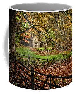 Rustic Shack- New England Autumn  Coffee Mug