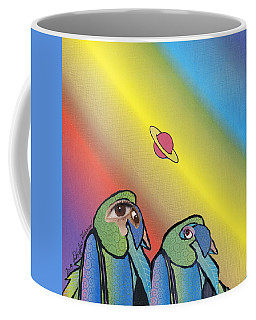 Quirky Birds Coffee Mug