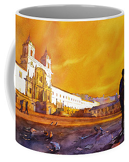 Quito Sunrise Coffee Mug by Ryan Fox