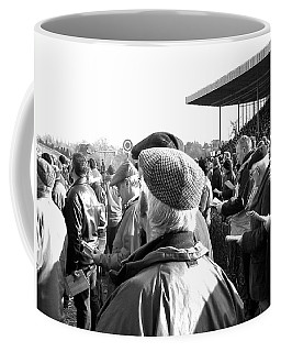 Coffee Mug featuring the photograph Race Day by Suzanne Oesterling